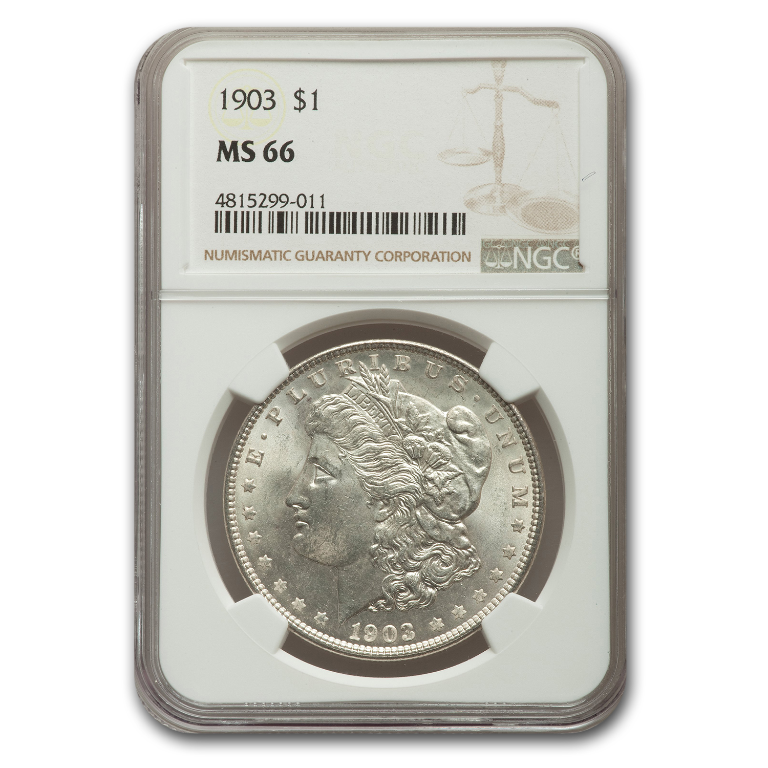 1903 Morgan Dollar MS-66 NGC